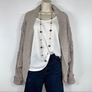 Anthro - Moth -  Cocoon Cardigan Sweater